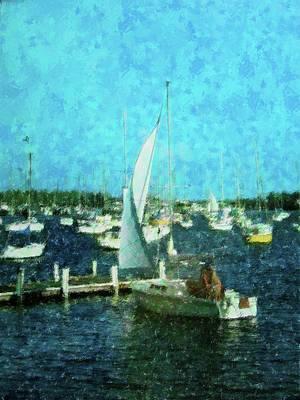 Coconut Grove Sail Art Print