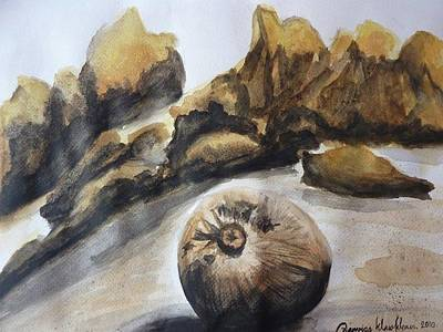 Painting - Coconut On The Beach by Wanvisa Klawklean
