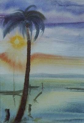 Painting - Coconut Palm by Scott Cumming