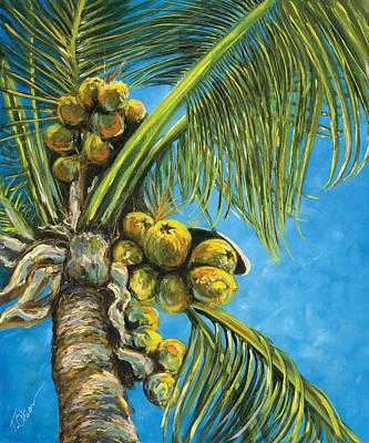 Coconut Palm Original by Tammy Olson