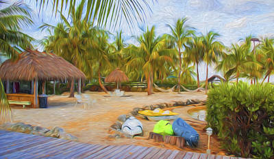 Photograph - Coconut Palms Inn Beach by Ginger Wakem
