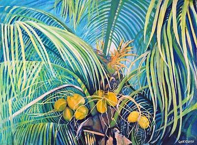 Painting - Coconut Palms by Rebecca Gottesman