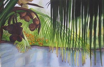 Painting - Coconut Tree by Teresa Beyer