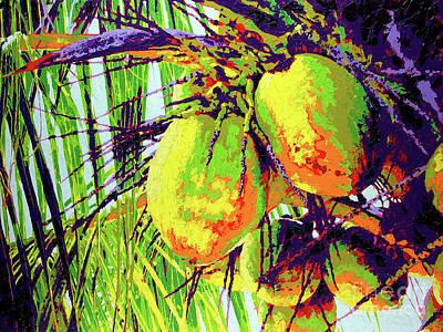 Wall Art - Painting - Coconuts by Anatoli Titarenko