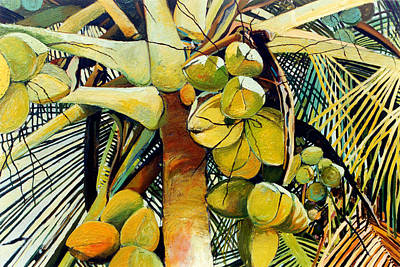Painting - Coconuts I by Glenford John