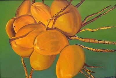 Coconuts Art Print by Katiana Valdes