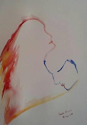 Painting - Cocooned by Geeta Biswas