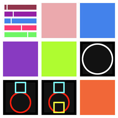 Drawing - Code Mix -24 by David Riley