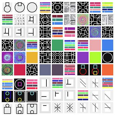 Code Remix - 24 Art Print