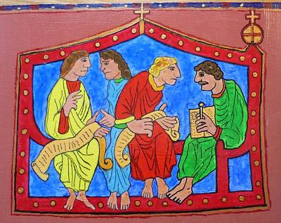 Blasoning Painting - Codex Saxoniae by Alexander Snehotta von Kimratshofen