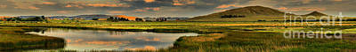 Photograph - Cody Alkali Lake Panorama by Adam Jewell
