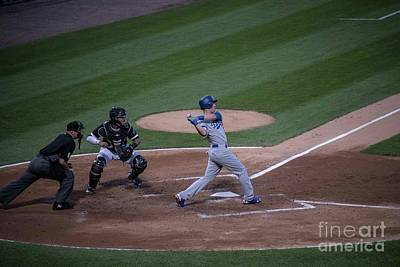 Photograph - Cody Bellinger - Dodgers by David Bearden