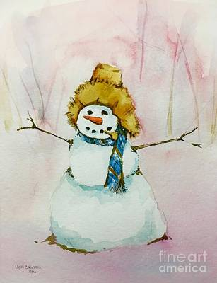 Painting - Cody's First Frosty by Lynn Babineau
