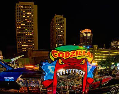 Photograph - Codzilla 001 by Jeff Stallard
