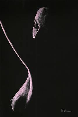 Semi-nude Pastel - Coercion by Richard Young