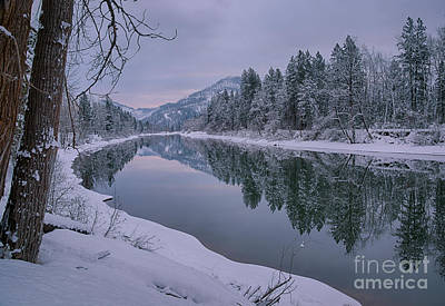Photograph - Coeur D Alene River Reflections by Idaho Scenic Images Linda Lantzy