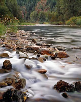 Photograph - Coeur D'alene River by Leland D Howard