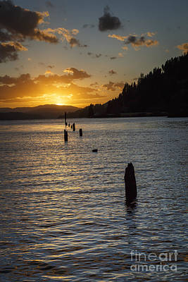 Photograph - Coeur D'alene Sunset by Dennis Hedberg