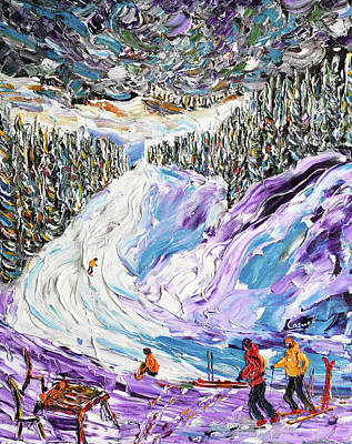 Painting - Coffe Stop On Crots by Pete Caswell