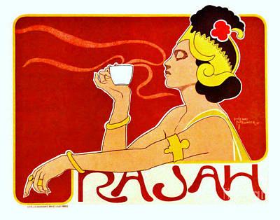 Coffee Ad 1897 Art Print