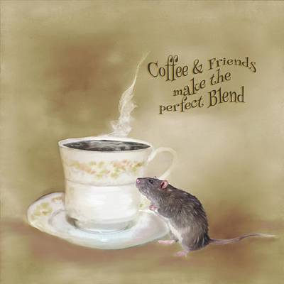 Photograph - Coffee And Friends Make The Perfect Blend by Mary Timman