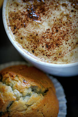 Photograph - Coffee And Muffin by Christopher Rees