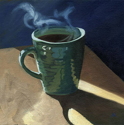 Wall Art - Painting - Coffee by Arlene Kelley