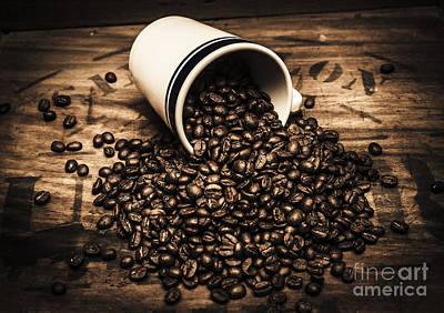 Coffee Bar Advertisement Print by Jorgo Photography - Wall Art Gallery