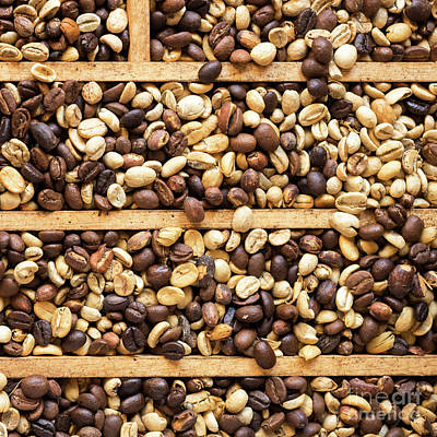 Photograph - Coffee Beans 13 by Rick Piper Photography