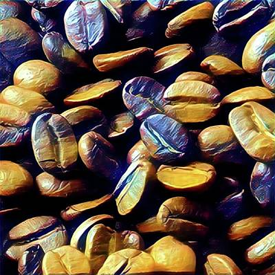 Photograph - Coffee Beans by Marco Domeniconi