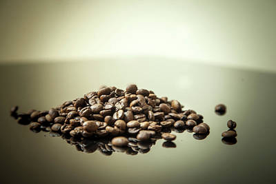 Photograph - Coffee Beans, No.2 by Eric Christopher Jackson