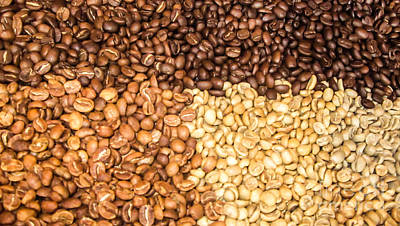 Photograph - Coffee Beans by Suzanne Luft