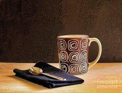 Coffee Break Print by Arnie Goldstein