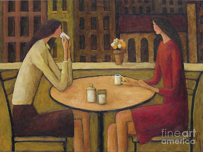 Painting - Coffee Break by Glenn Quist