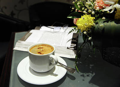 Coffee Break Print by Graham Taylor