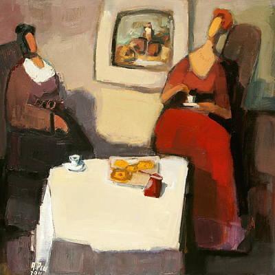Sit-ins Painting - Coffee Break, Nr. 11.19 by Adolf Pen