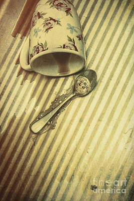 Mess Photograph - Coffee Break Up by Jorgo Photography - Wall Art Gallery