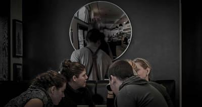 Digital Art - Coffee Clache  by Jerald Blackstock