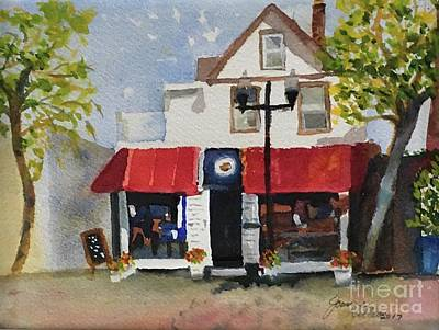 Painting - Coffee Co. Ocean City New Jersey by Joanne Killian