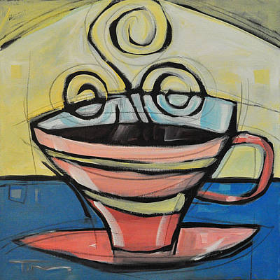 Tim Painting - Coffee Cup Four by Tim Nyberg