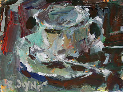Painting - Coffee Cup Painting by Robert Joyner