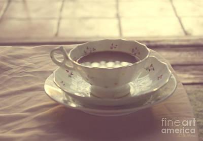 Earthy Photograph - Coffee Cup Photo by Svetlana Novikova