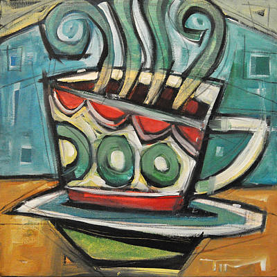 Painting - Coffee Cup Two by Tim Nyberg