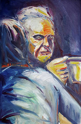 Painting - Coffee Exhibit B by John Jr Gholson