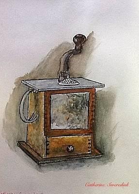 Painting - Coffee Grinder by Catherine Swerediuk