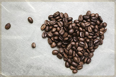 Photograph - Coffee Heart by Stephanie Hollingsworth