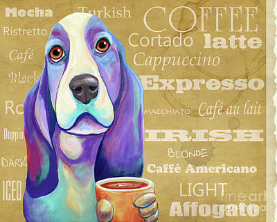 Painting - Coffee Hound by Jody Wright