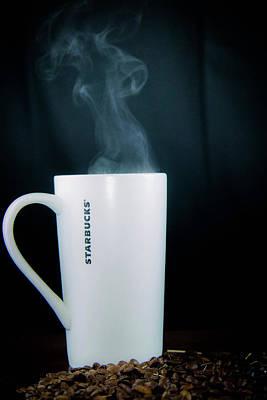 Morning Coffee Photograph - Coffee by Hyuntae Kim