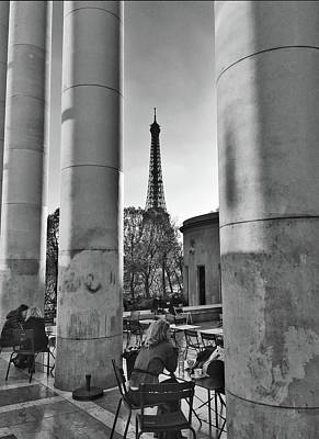 Photograph - Coffee In Paris by Frank DiMarco