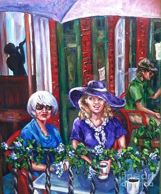 Painting - Coffee In Pirates' Alley by Beverly Boulet